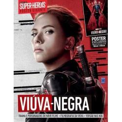 Revista Superpôster Mundo dos Super-Heróis - Viúva-Negra