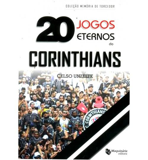 Livro 20 Jogos Eternos Corinthians