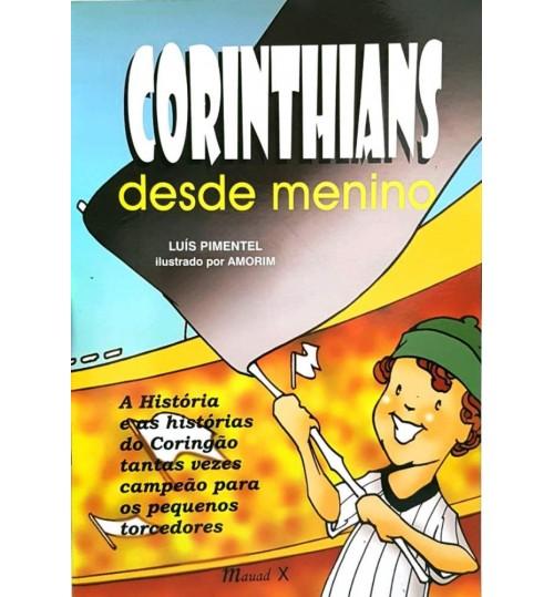 Livro Corinthians Desde Menino