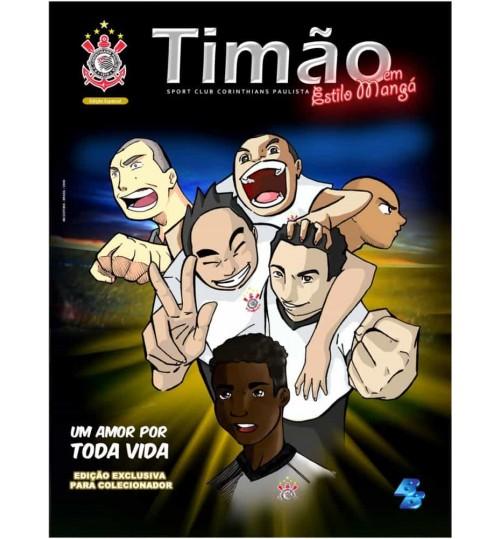 Revista Timão em Estilo Mangá