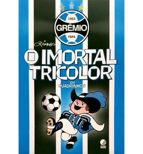 Livro Grêmio O Imortal Tricolor em Quadrinhos
