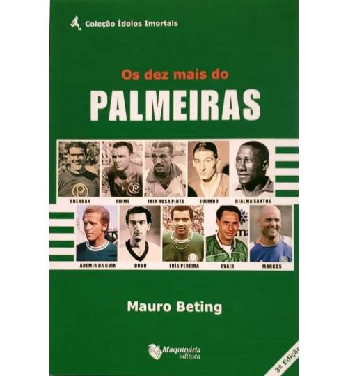 Livro Os Dez Mais do Palmeiras