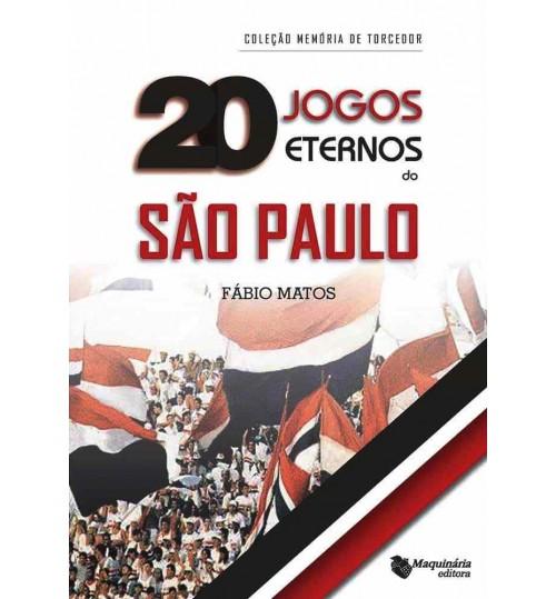 Livro 20 Jogos Eternos do São Paulo