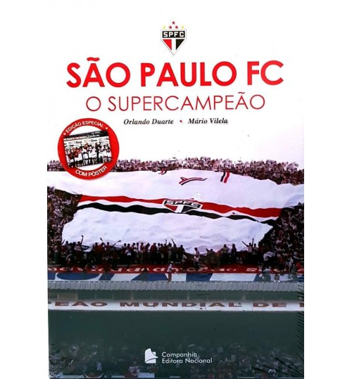 Livro São Paulo FC O Supercampeão