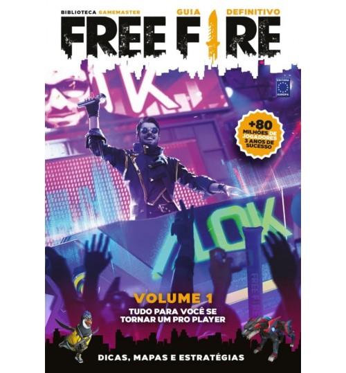 Livro Guia Definitivo Free Fire - Volume 1