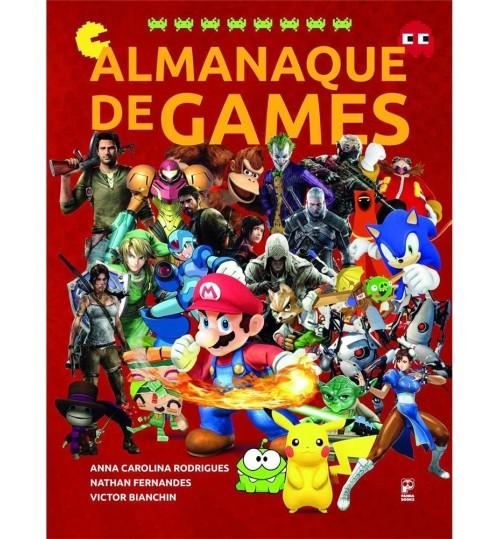 Livro Almanaque de Games