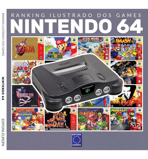 Livro Ranking Ilustrado dos Games - Nintendo 64