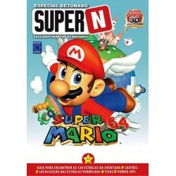 Livro Especial Detonado Super N - Super Mario 64