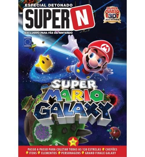 Livro Especial Detonado Super N - Super Mario Galaxy