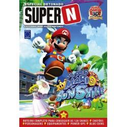 Livro Especial Detonado Super N - Super Mario Sunshine