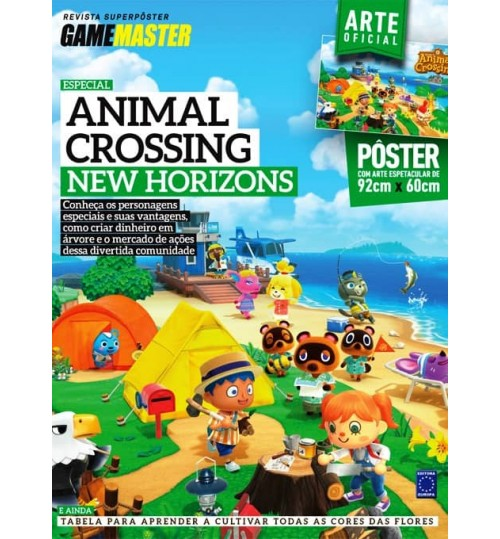 Revista Superpôster - Animal Crossing New Horizons