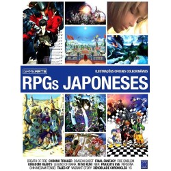 Livro Bookzine GameArts - Volume 2: RPGs Japoneses
