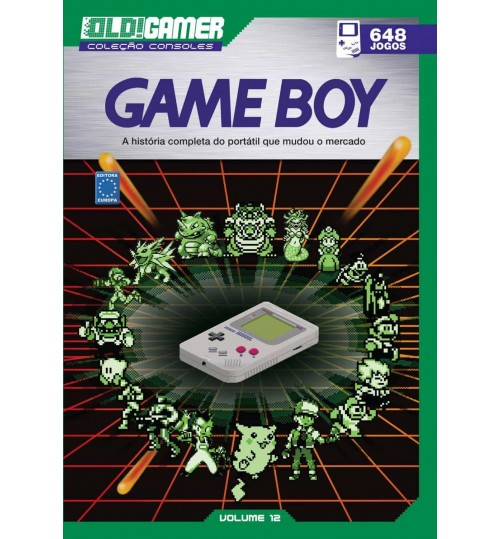 Livro Dossiê OLD!Gamer Volume 12: Game Boy