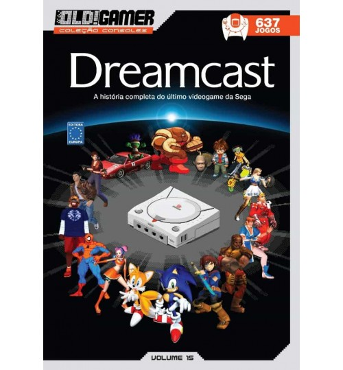 Livro Dossiê OLD!Gamer Volume 15: Dreamcast