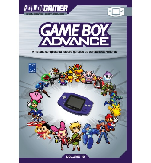 Livro Dossiê OLD!Gamer Volume 19: Game Boy Advance
