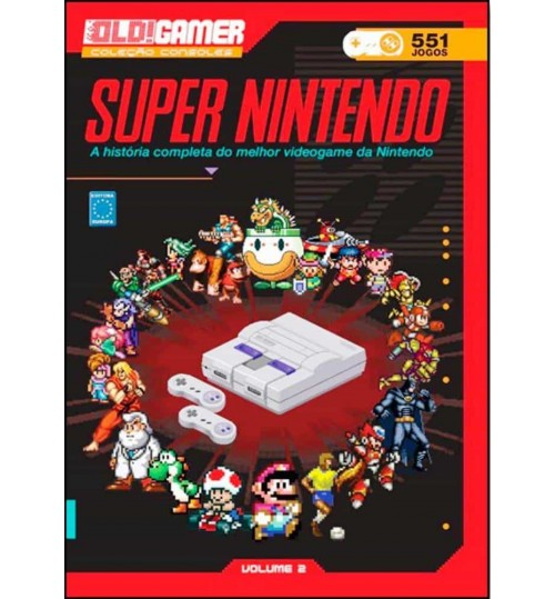 Livro Dossiê OLD!Gamer Volume 2: Super Nintendo