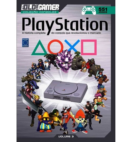 Livro Dossiê OLD!Gamer Volume 3: PlayStation
