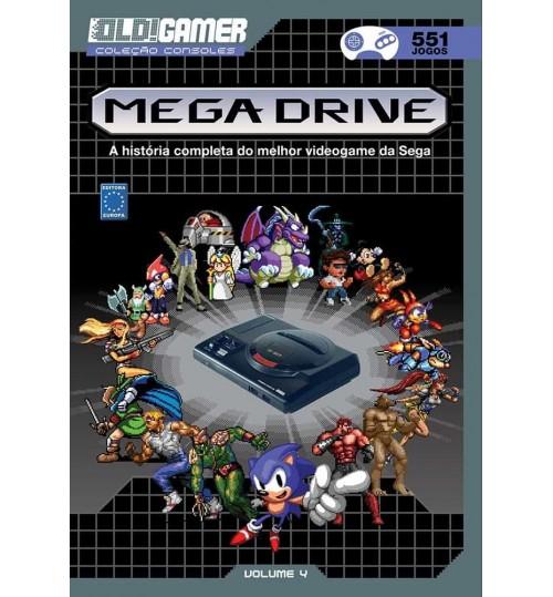 Livro Dossiê OLD!Gamer Volume 4: Mega Drive
