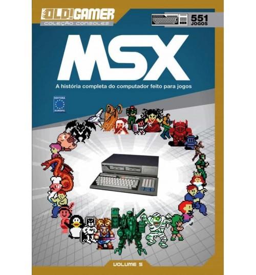 Livro Dossiê OLD!Gamer Volume 5: MSX