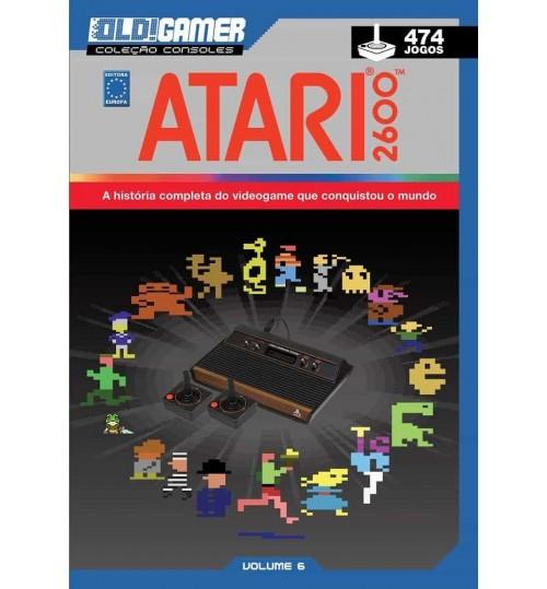Livro Dossiê OLD!Gamer Volume 6: Atari 2600
