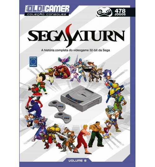 Livro Dossiê OLD!Gamer Volume 8: Sega Saturn