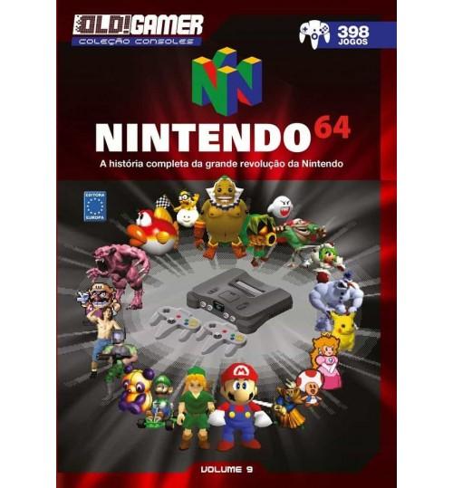 Livro Dossiê OLD!Gamer Volume 9: Nintendo 64