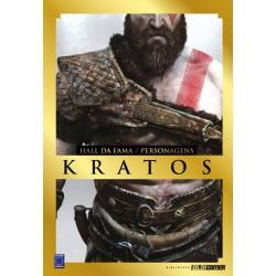 Livro Coleção Hall da Fama Personagens: Kratos