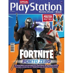 Revista Superpôster PlayStation - Fortnite Ponto Zero