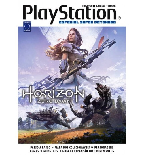Livro Especial Super Detonado PlayStation - Horizon Zero Dawn