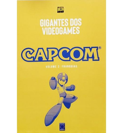 Livro Coleção Gigantes do Videogame: Capcom Volume 2 - Franquias