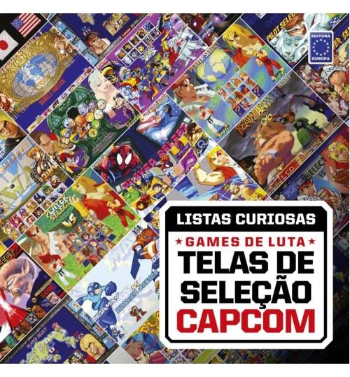 Livro Coleção Listas Curiosas: Games de Luta - Telas de Seleção Capcom