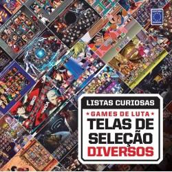 Livro Coleção Listas Curiosas: Games de Luta - Telas de Seleção Diversos
