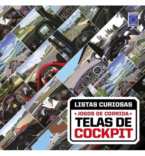 Livro Coleção Listas Curiosas: Jogos de Corrida - Telas de Cockpit
