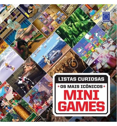 Livro Coleção Listas Curiosas: Os Mais Icônicos Mini Games