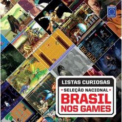Livro Coleção Listas Curiosas: Seleção Nacional - Brasil nos Games