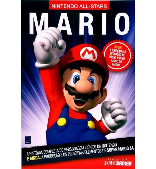 Livro Coleção Nintendo All-Stars: Mario