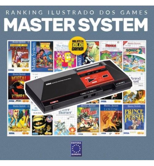 Livro Ranking Ilustrado dos Games - Master System