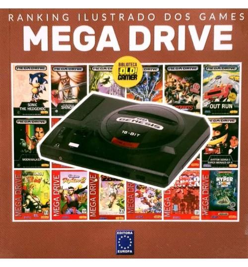 Livro Ranking Ilustrado dos Games - Mega Drive