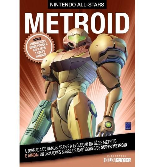 Livro Coleção Nintendo All-Stars: Metroid