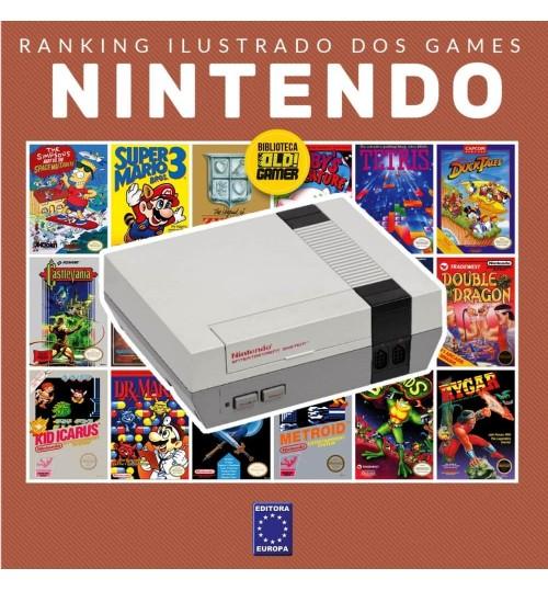 Livro Ranking Ilustrado dos Games - Nintendo