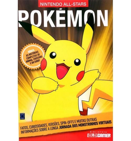 Livro Coleção Nintendo All-Stars: Pokémon
