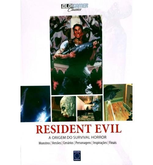 Livro Coleção OLD!Gamer Classics: Resident Evil - A Origem do Survival Horror