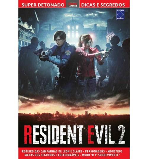 Livro Super Detonado Dicas e Segredos - Resident Evil 2