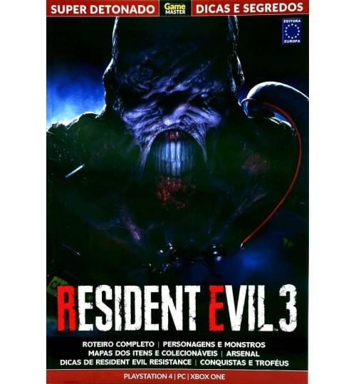Livro Super Detonado Dicas e Segredos - Resident Evil 3