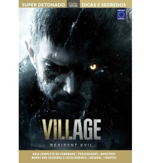 Livro Super Detonado Dicas e Segredos - Resident Evil 8: Village