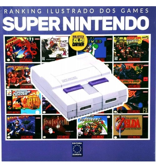 Livro Ranking Ilustrado dos Games - Super Nintendo