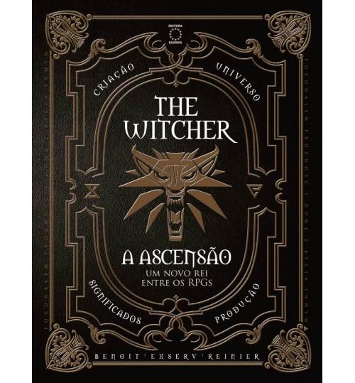 Livro The Witcher A Ascensão - Um Novo Rei Entre os RPGs