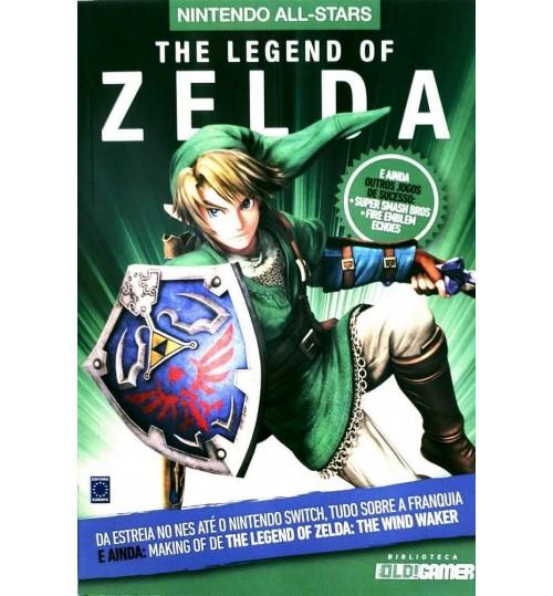 Livro Coleção Nintendo All-Stars: The Legend Of Zelda