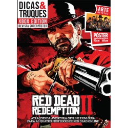 Revista Superpôster Dicas & Truques Xbox Edition - Red Dead Redemption 2