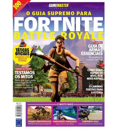 Revista O Guia Completo de Fortnite Battle Royale